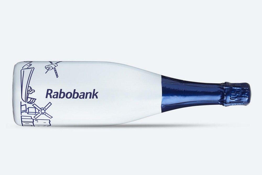 Bedrukte fles